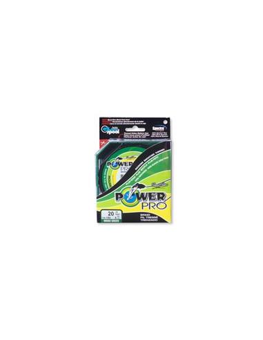 Power Pro Microfilament Line 0,15 mm / 9 kg moosgrün
