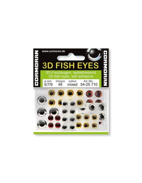 Cormoran 3D Fish Eyes Fischaugen sortiert