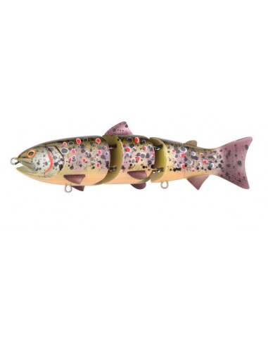 "Spro Swimbait BBZ-1 6"" UV Slow Sinking, Fb.: Brown Trout"