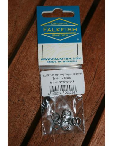 Falkfish Sprengringe 8 mm, rostfrei