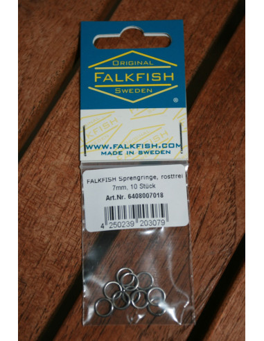 Falkfish Sprengringe 7 mm, rostfrei