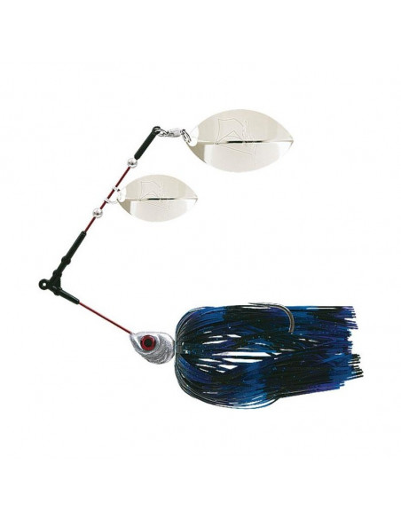Delalande Spinner Flex 21 g. Spinnerbait, Fb.: 04 Black/Blue/Violet
