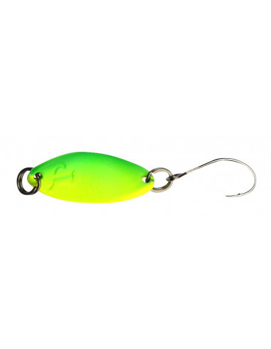 Trout Master INCY Spin Spoon 1,8 g., Fb.: Lime