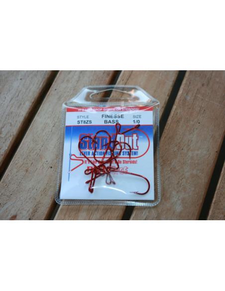 StandOut Hook Finesse Bass Gr. 1/0 Red Alert