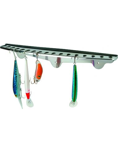 Tempress Fish-onEdelstahl Folding Hook Rack