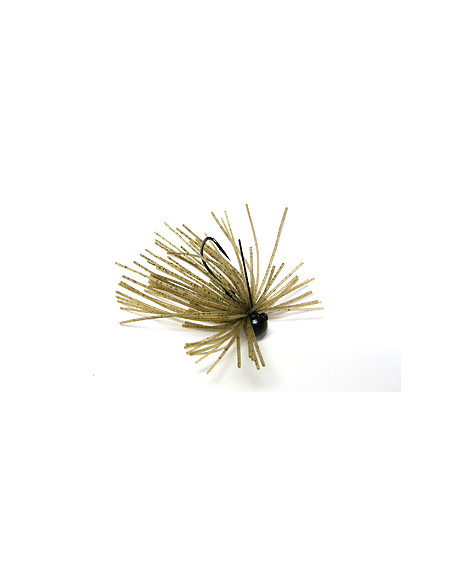 Keitech Mono Spin Jig 2,6 g, Fb.: Sahara Olive FLK.