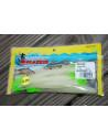 "Bass Assassin Sea Shad 5"", Fb.: Glow/Chartreuse Tail"