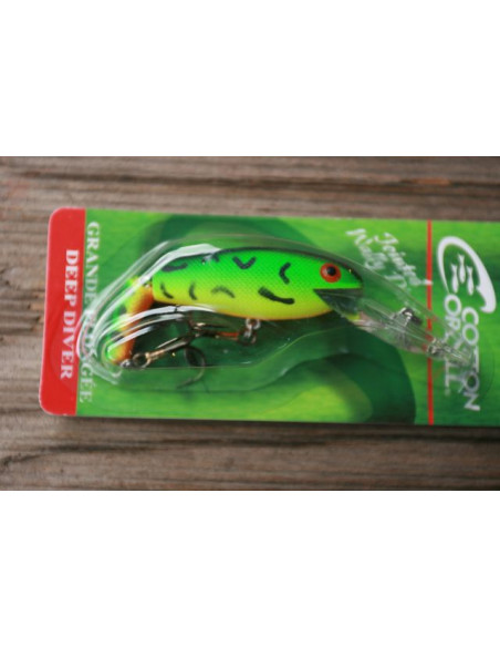 Cotton Cordell Jointed Wally Diver 7 cm, Fb. Firetiger