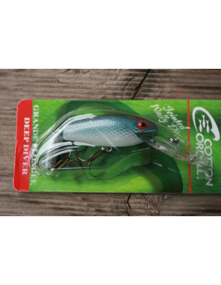 Cotton Cordell Jointed Wally Diver 7 cm, Fb. Super Shad