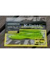 K-Don S6 Fringe Tail 14 cm / Fb.: Grün-Chartreuse