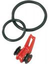 Fuji EZ Keeper Easy on Hook Keeper Hakenhalter , Fb.: Rot