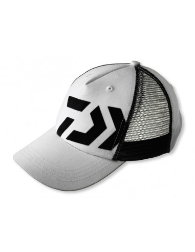 Daiwa D-Cap Basecap, Fb.: weiß/schwarz