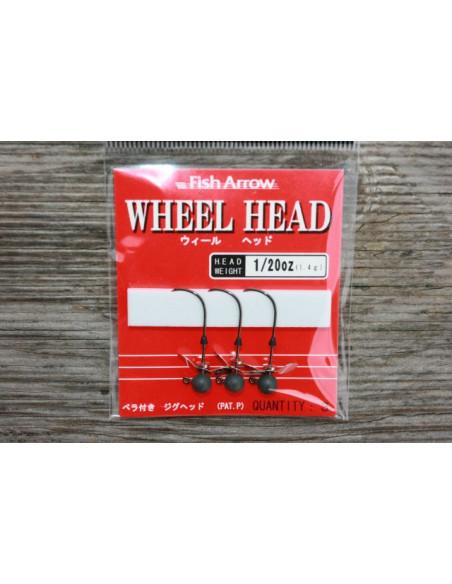 Fish Arrow Wheel Head 1,4 g.