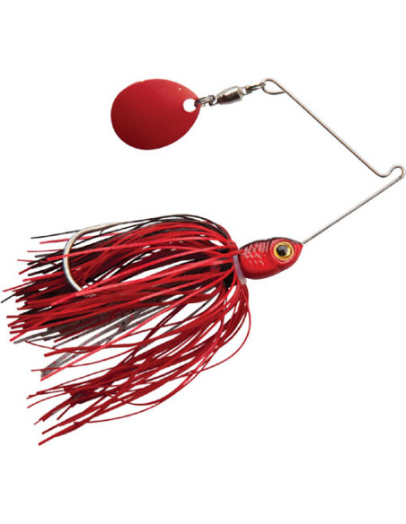 BooYah Micro Pond Magic Spinnerbait, Fb.: 692 Fire Ant