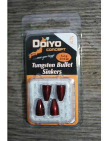 Iron Claw Doiyo Concept Tungsten Bullet 5,2 g Rot