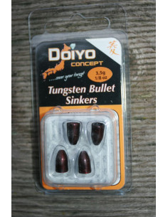 Iron Claw Doiyo Concept Tungsten Bullet 3,5 g Rot