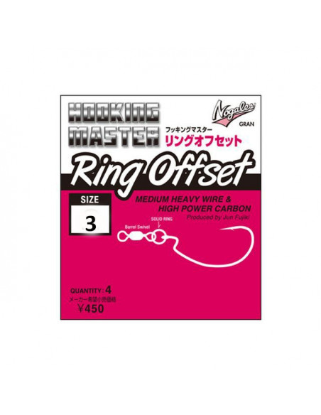 Nogales Ring Offset Size 3
