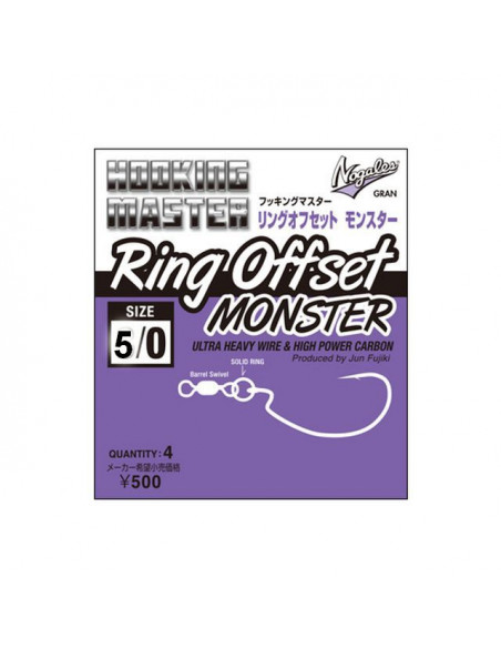 Nogales Ring Offset Monster Size 5/0