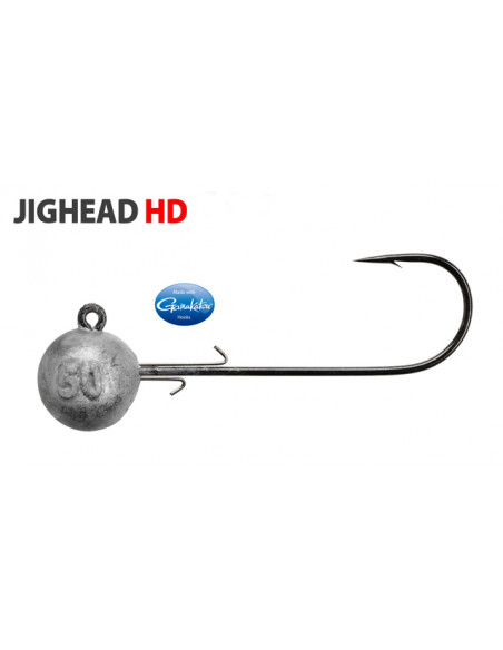 Gamakatsu/Spro Round Jighead HD Rundkopfjig 4/0 - 50 g.