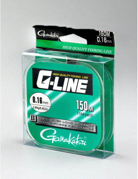 Gamakatsu G-Line Topcaster Long Distance 0,16mm / 2,9 kg