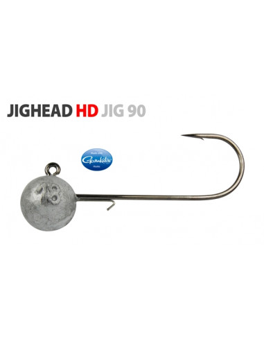 Gamakatsu/Spro Round Jighead HD Jig 90 Rundkopfjig 6/0 -18 g.