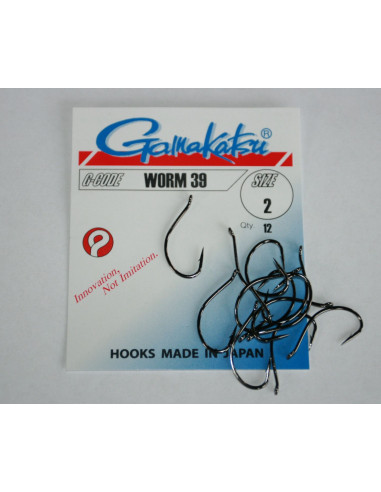 Gamakatsu Hook Worm 39 Gr.2