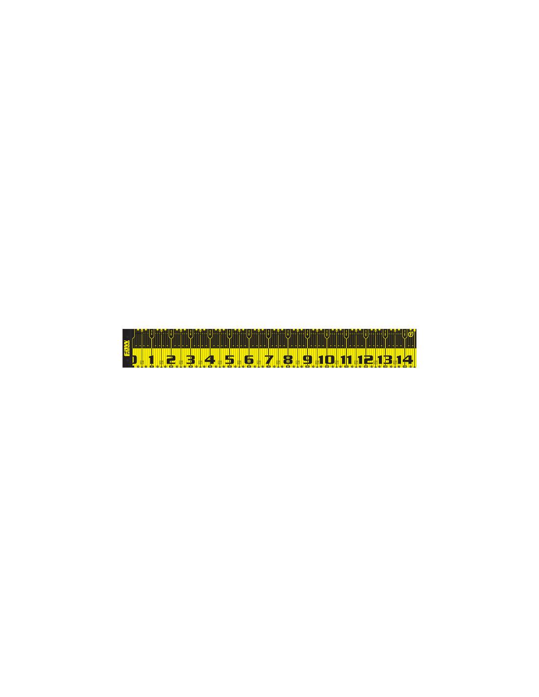Daiwa Maßband schwarz//rot max.150cm