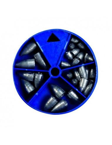 CorrigatorDrop-Shot Bullet Blei Sortiment