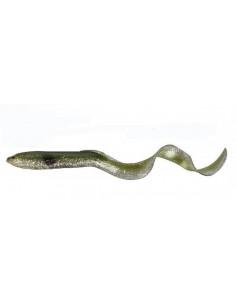 Savage Gar Real Eel Loose Body 15 cm, Fb.: 06 Green Silver NL