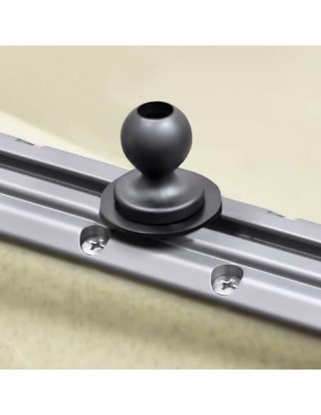 "Ram-Mounts RAM 1"" Ball Track Adapter with T-Bolt Attachment (RAP-B-354U-TRA1)"