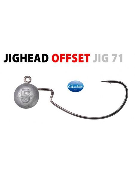 Spo/Gamakatsu Offset Jig Head 2/0 - 5 g.