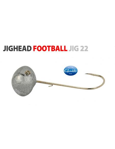 Gamakatsu/Spro Football Jighead 3/0 - 10 g.