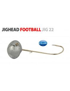 Gamakatsu/Spro Football Jighead 3/0 - 18 g.