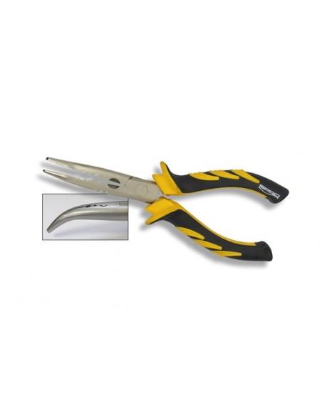 Spro Predator Bent Nose Plier Spitzzange gebogen, 18 cm