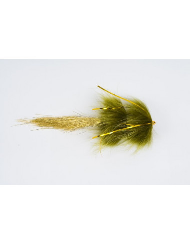 "Eumer SpinTube ""Pike"" Fast Sink, 25 cm, Fb.: Olive/Gold"