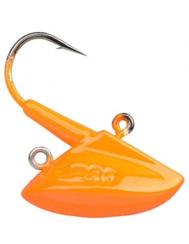 Spro Fire Erie Jig 1/0 - 28 g., Fb.: Fluo Orange
