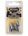Spro Lead Bullet Sinkers 7 g.