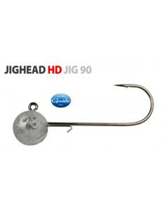Gamakatsu/Spro Round Jighead HD Jig 90 Rundkopfjig 1/0 - 7 g.
