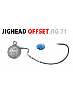Spo/Gamakatsu Offset Jig Head 2/0 - 7 g.