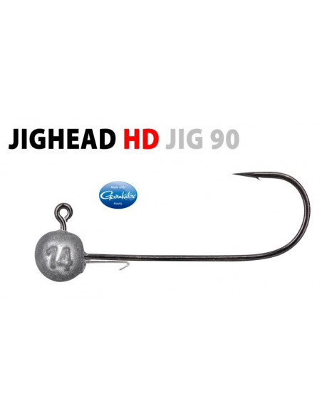 Gamakatsu/Spro Round Jighead HD Jig 90 Rundkopfjig 2/0 -7 g.