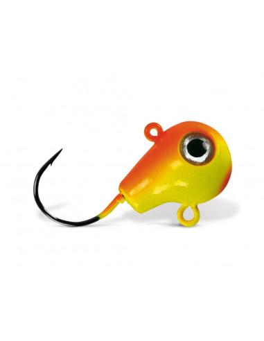 VMC Hammer Head Fireball 2/0 - 21g., Fb.: Chartreuse Orange