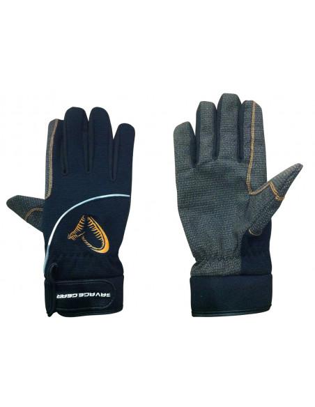 Savage Gear Shield Glove Schutz-Handschuhe, Gr. M