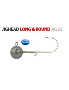 Gamakatsu/Spro Round Jighead Jig 22 Rundkopfjig 3/0 - 5 g.