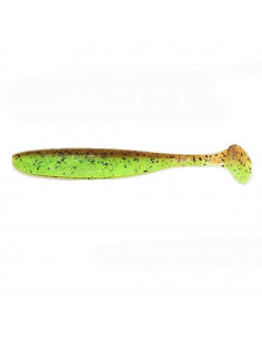 "Keitech Easy Shiner 3"", Fb.: Green Pumpkin / Chartreuse"