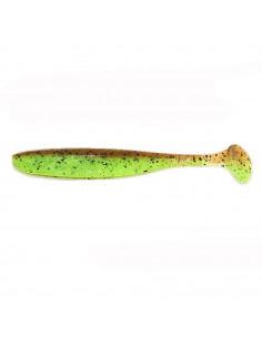 "Keitech Easy Shiner 4"", Fb.: Green Pumpkin / Chartreuse"