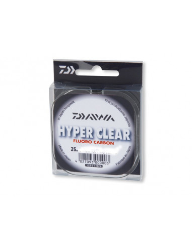 Daiwa Hyper Clear Fluorocarbon 0,16 mm / 2,5 kg. / 25 m